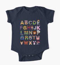 Teenage Mutant Ninja Turtle Alphabet Kids Clothes