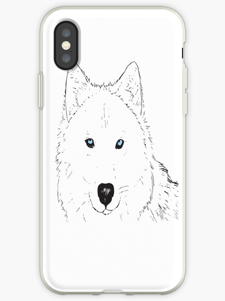 Wolf Phone Case by clairerenouf