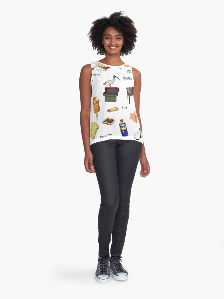 Alternate view of The Grand Collection Sleeveless Top