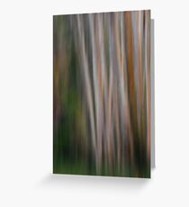 Aspen Tree Abstract Greeting Card
