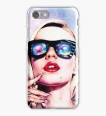 Iggy Azalea- Pink/Purple iPhone Case/Skin
