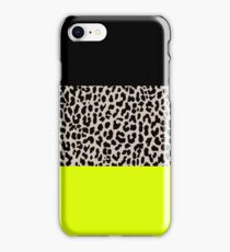 Leopard National Flag V iPhone Case/Skin