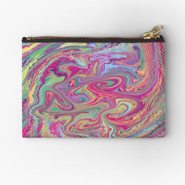 Rave Acid Design Zipper Pouch