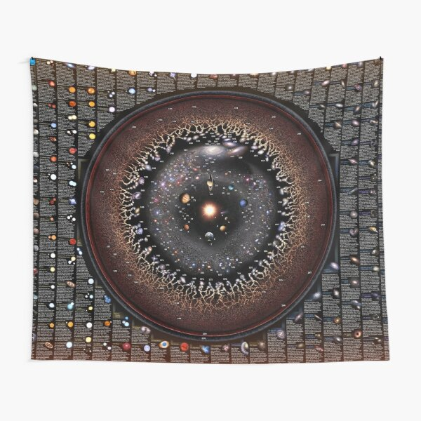 THE CELESTIAL ZOO - Astronomical Fauna explained! Tapestry