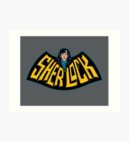 Sherlock Logo Art Print