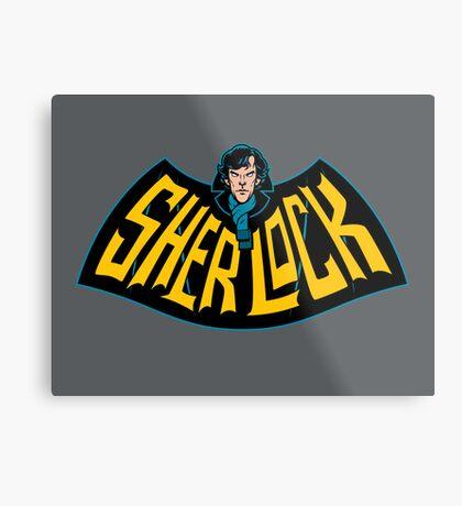 Sherlock Logo Metal Print
