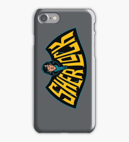 Sherlock Logo iPhone Case/Skin