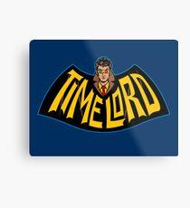 Time Lord Logo Metal Print