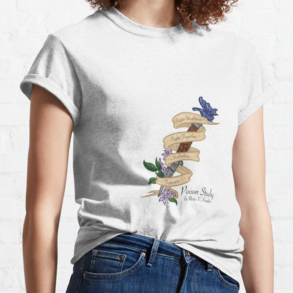 Soulfinders Poison Study Switchblade Quote Classic T-Shirt