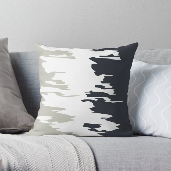 Together Blue Throw Pillow