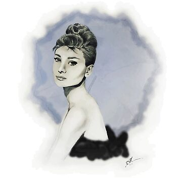 Audrey in Vector by jennamarieanne