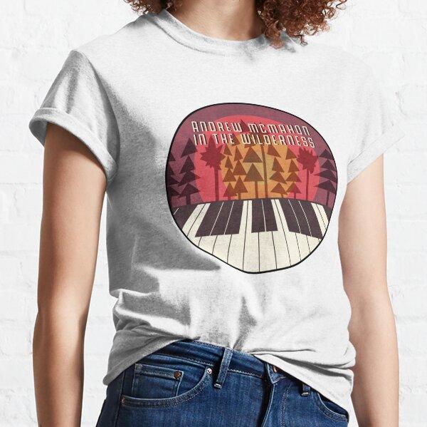 Piano Sunset (Maroon w/ font) Classic T-Shirt