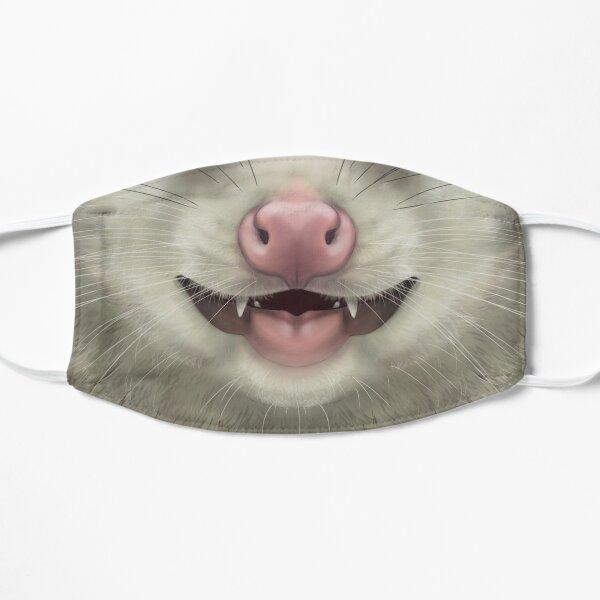 Virginia Opossum Face Flat Mask