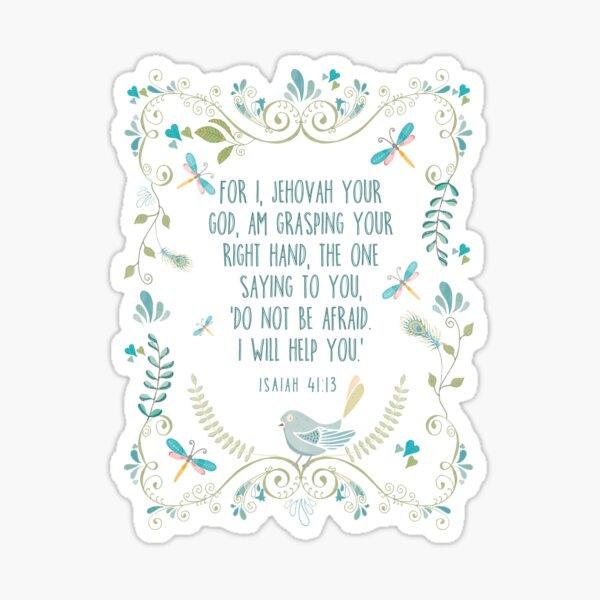 Isaiah 41:13 Sticker