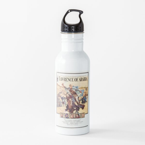 Lawrence of arabia movie poster Water Bottle