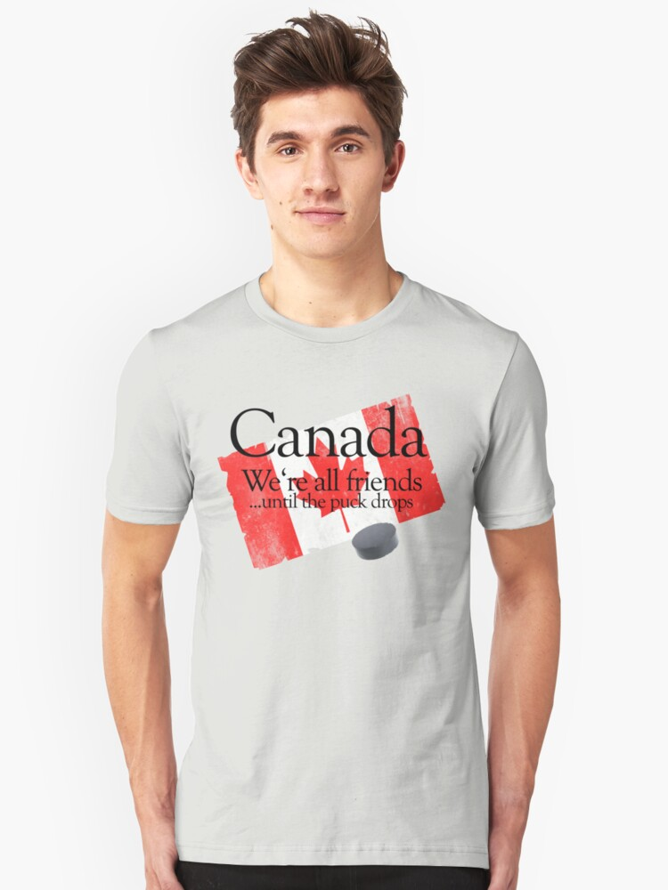 Canada: We're all friends until the puck drops by digerati