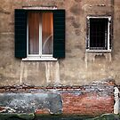 Building decay in Venice by Jai Honeybrook