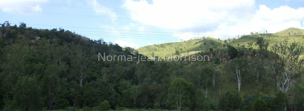 """A little of the hills"" by Norma-jean Morrison"