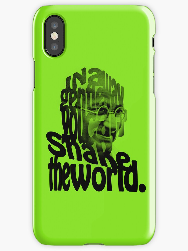Gently Shake the World - Green Cases by Neal Easterling
