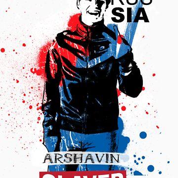 SLAVER Arshavin by bukhariridhwan