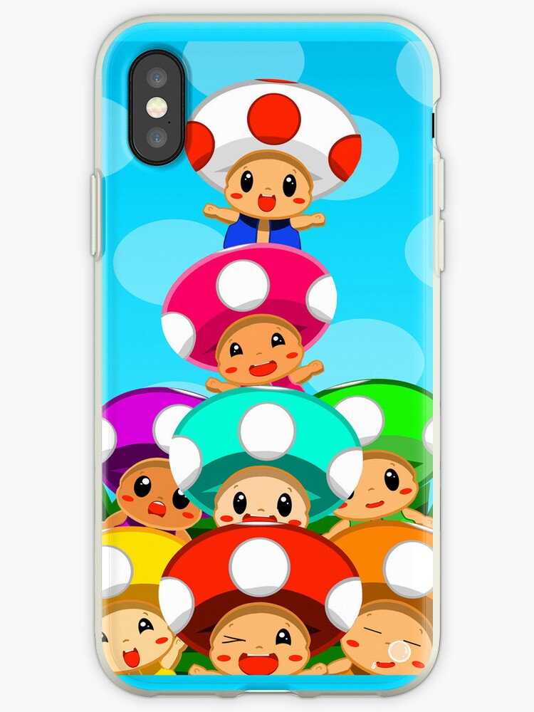 Stack o' Toads iphone by SleepingRabbits