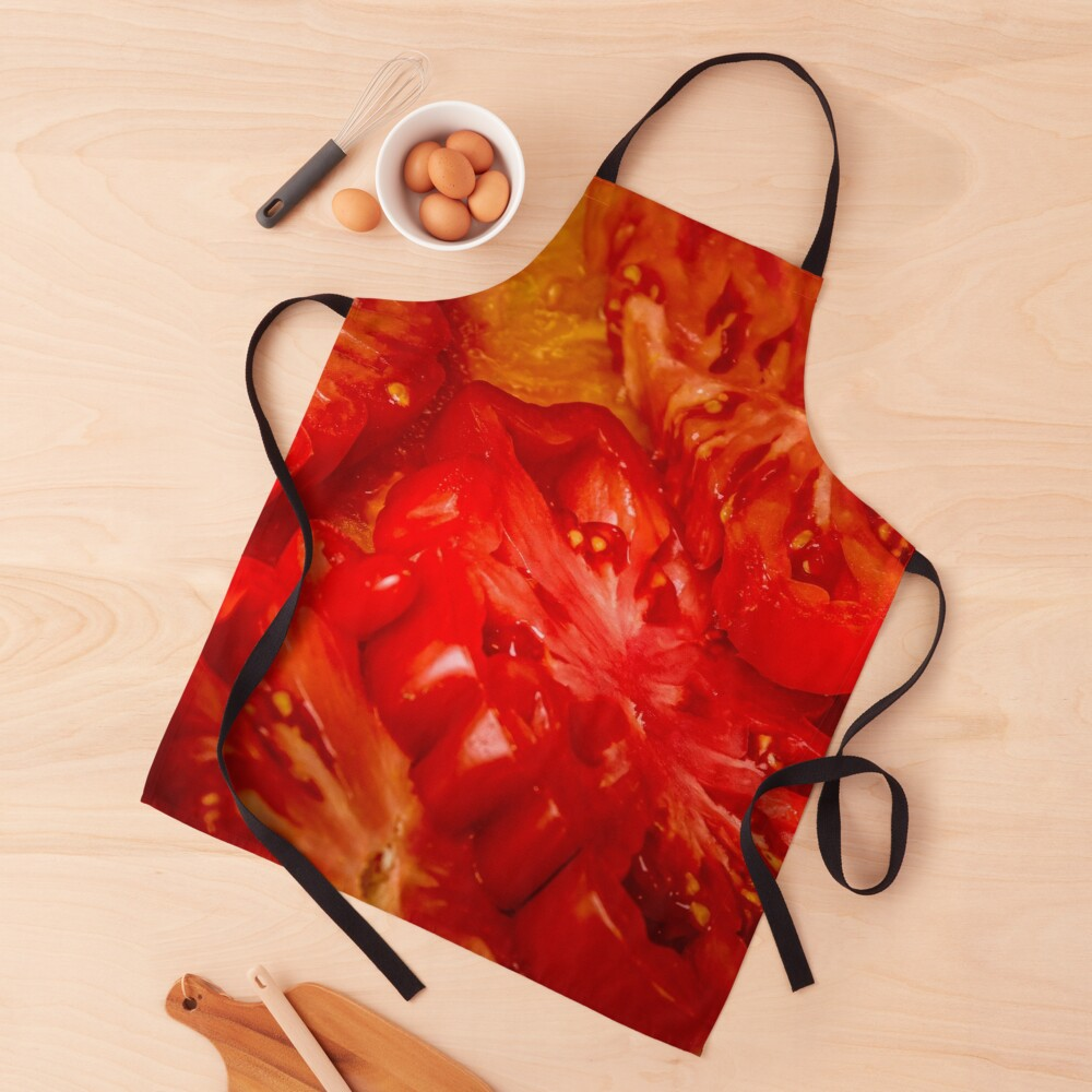Red Perfection Apron