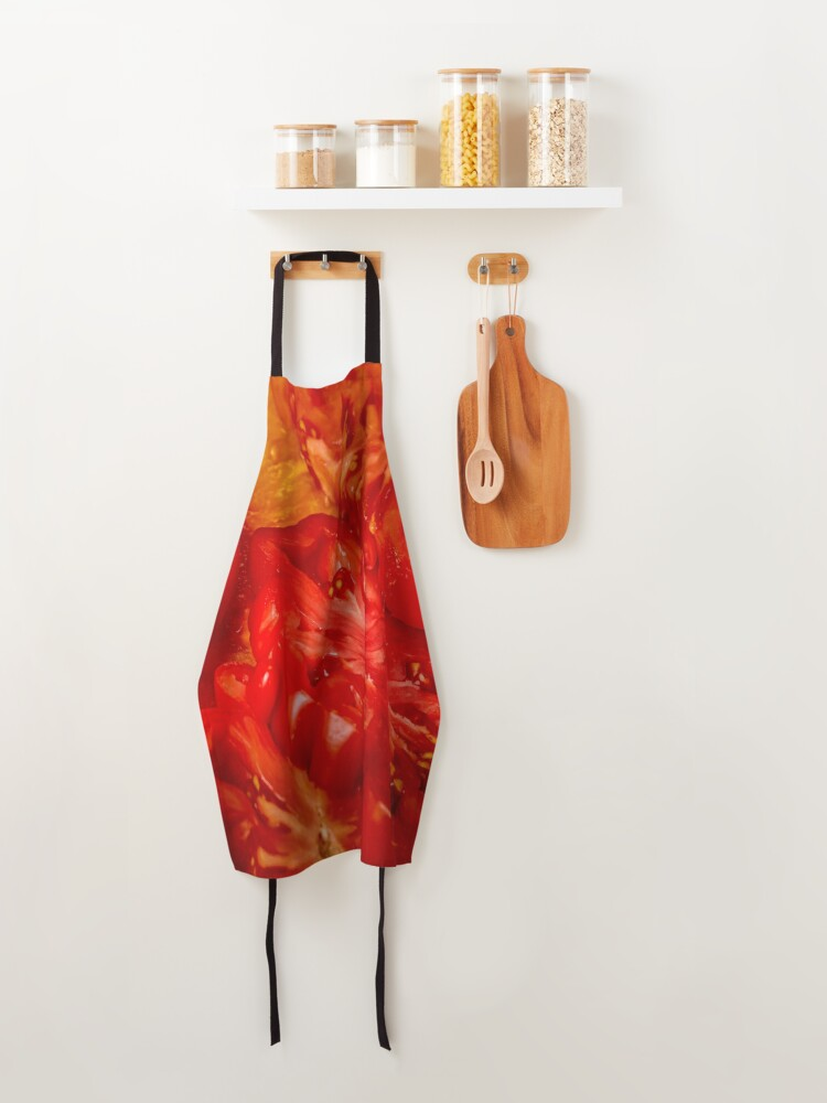 Alternate view of Red Perfection Apron