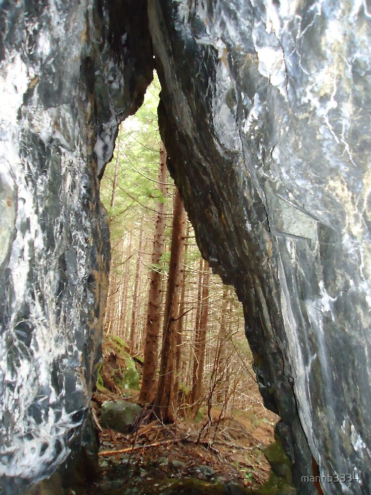 Hidden Cave by mannb3334