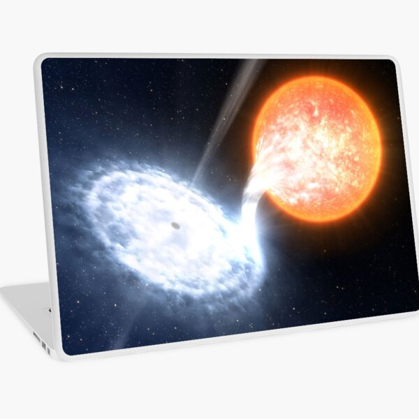 Artist's Impression of a Black Hole Laptop Skin