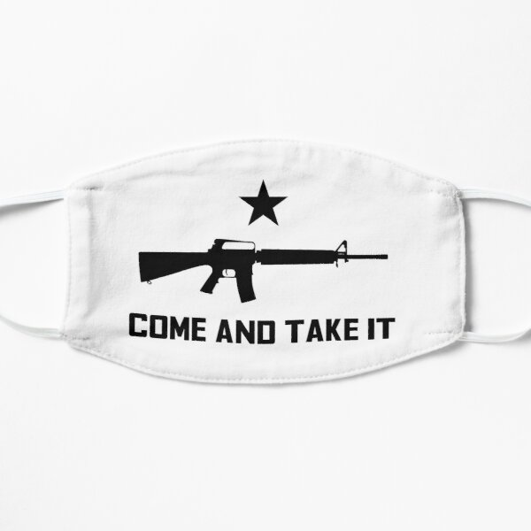 Come and Take it AR Flat Mask