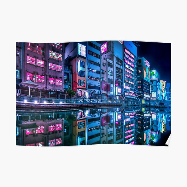 Osaka Dotonbori Poster