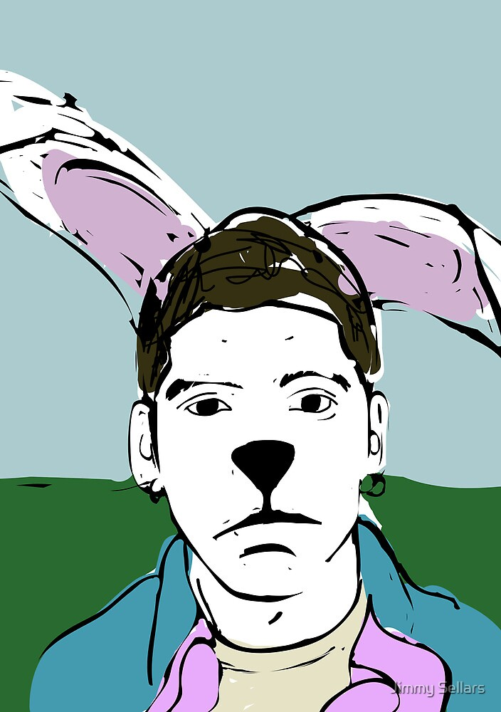 Adolescent from My Year as a Rabbit by Jimmy Sellars