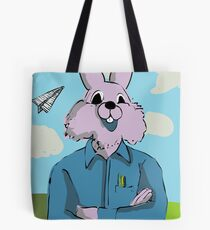 Paper Airplanes from My Year as a Rabbit Tote Bag