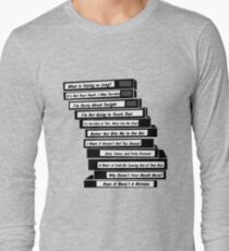Brooklyn 99 Sex Tapes Long Sleeve T-Shirt