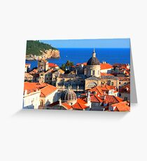 Croatia Grußkarte