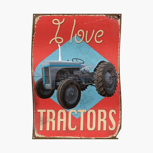 FergieTractor_01a Poster