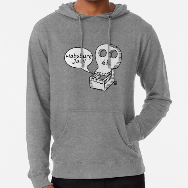 Habsburg Jaw Lightweight Hoodie By Sick Boy Redbubble