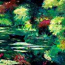Hidden lake by Luigi Maria De Rubeis