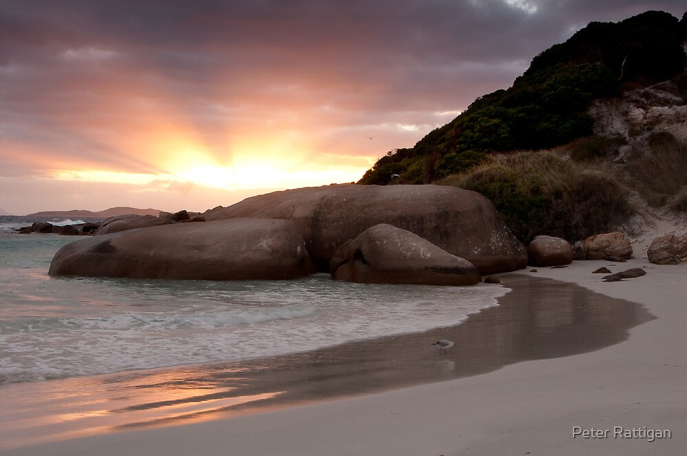 Sunrise at Twilight Beach by Peter Rattigan