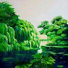 Green swamp by Luigi Maria De Rubeis