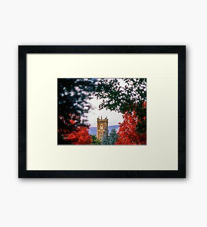 Clock Tower—Government House Tasmania Framed Print