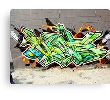 Graffiti As Art  Canvas Print