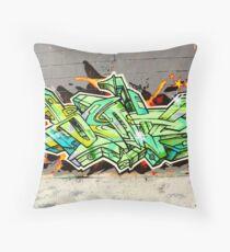 Graffiti As Art  Throw Pillow