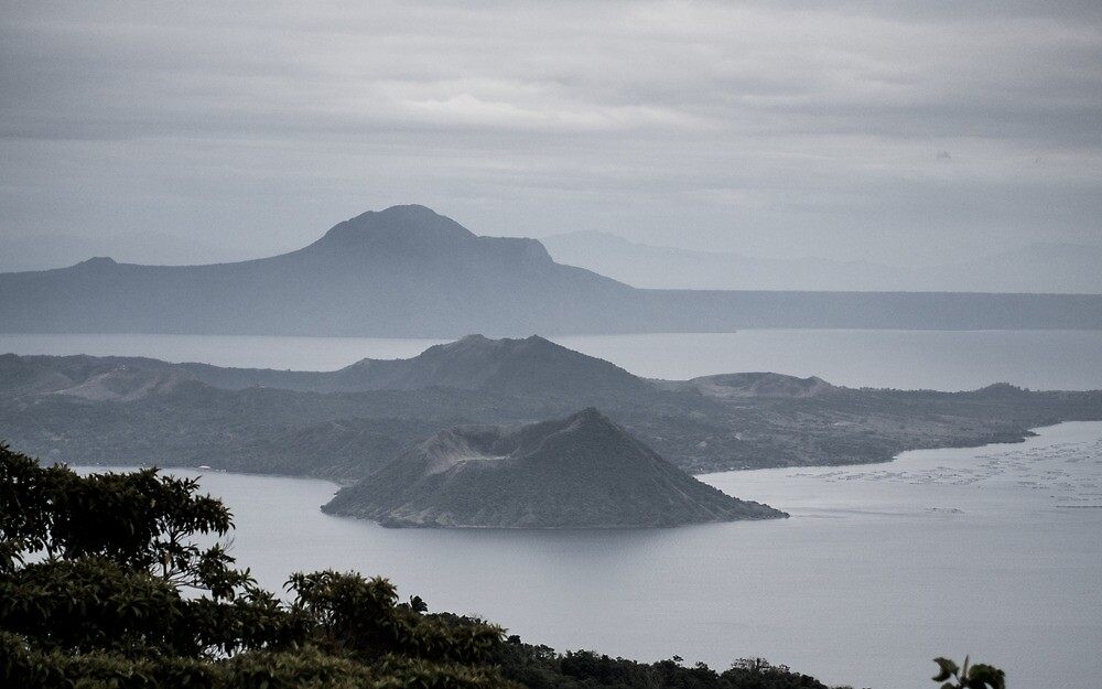 The View of Taal by orenciojrphotos