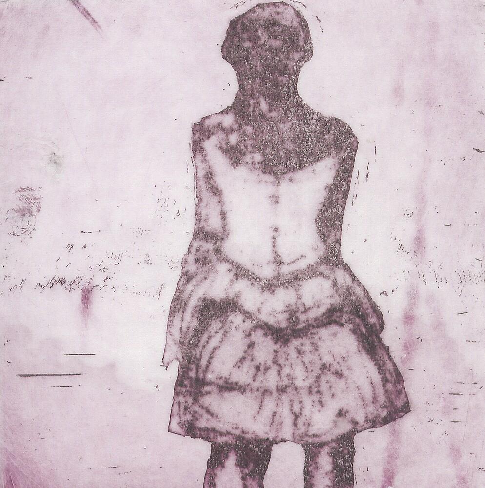 La ballerina di Degas in rosa by IRENE GRAZI