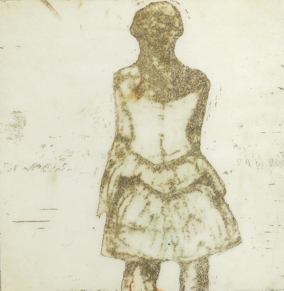 La ballerina di Degas in giallo by IRENE GRAZI