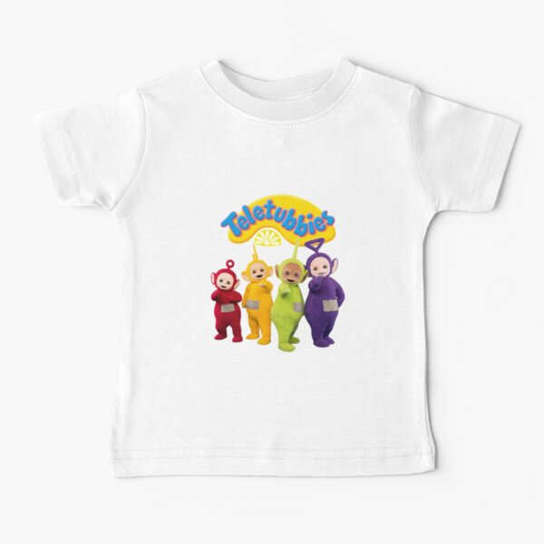 Teletubbies Tinky Winky Dipsy Laa Laa Po Baby T-Shirt