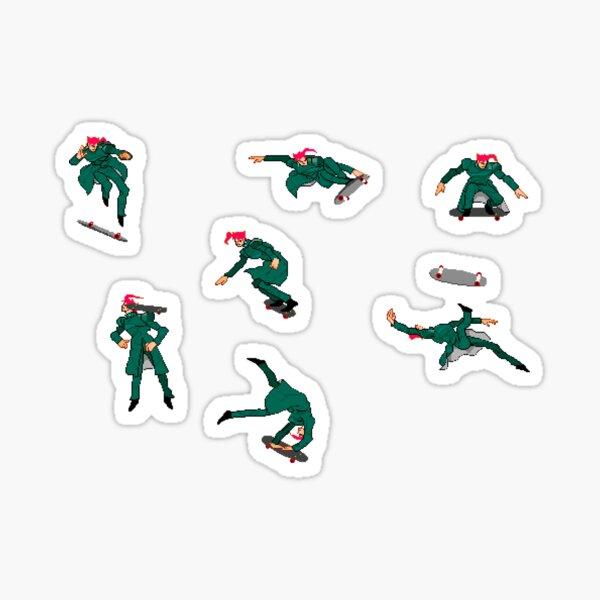 Skater Kakyoin Sticker