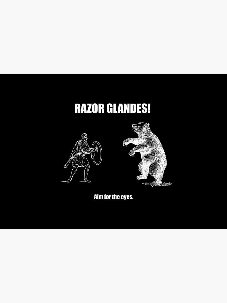 Razor Glandes! Aim for the Eyes. by tacpar