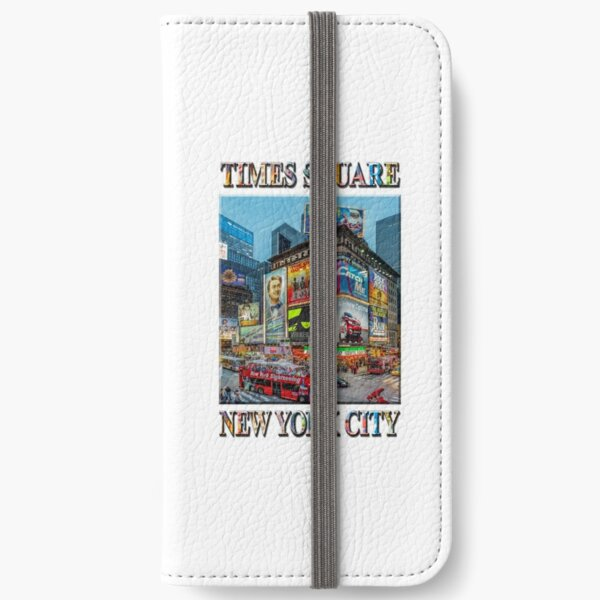 Times Square III Special Finale Edition poster iPhone Wallet